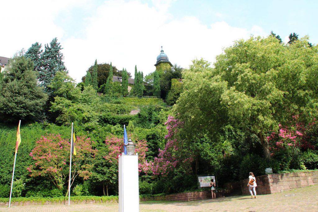 Florentinerberg und Neues Schloss in Baden-Baden