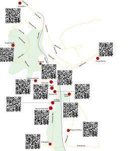Stadtrundgang Festspielhaus und Lichtentaler Allee Teil 1 - Karte