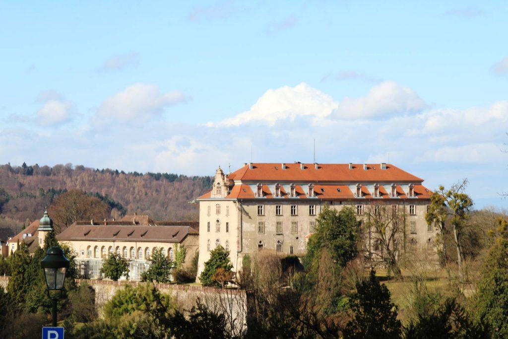 Blick aufs Neue Schloss