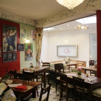 Das Olivenhaus Innenraum