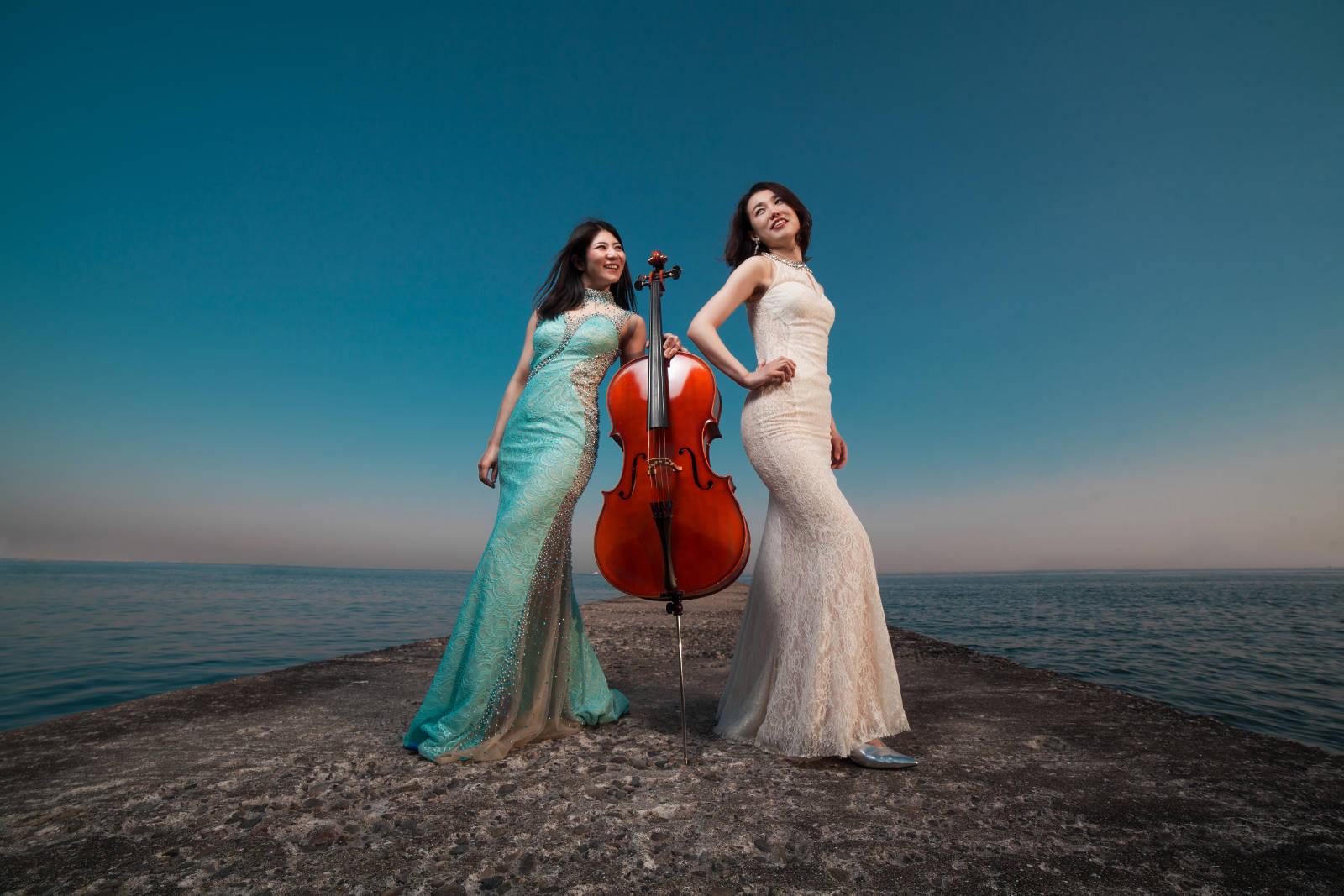 Ranna Sakimoto, Cello und Yo Miki, Piano