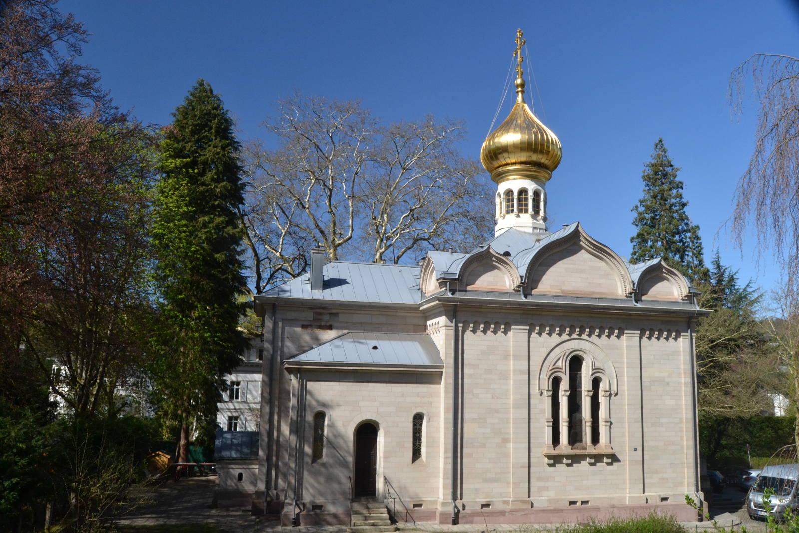Russisch Orthodoxe Kirche Baden Baden