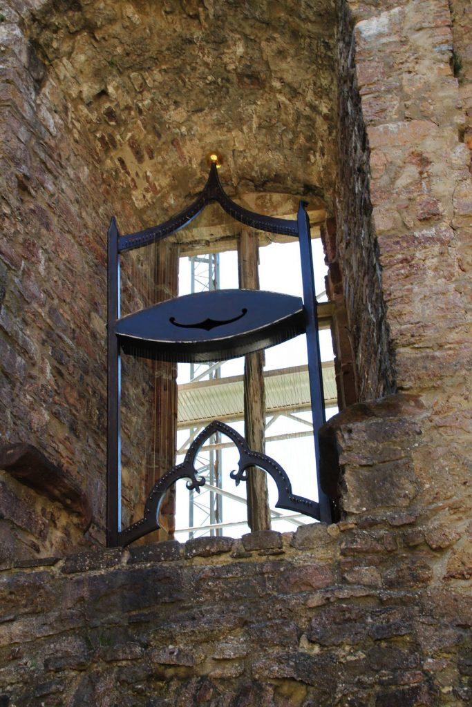 Windharfe im Alten Schloss
