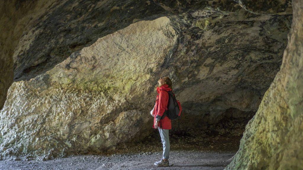 Für Hobby-Archäologen: Vogelherdhöhle; Bildnachweis: TMBW_Dietmar Denger