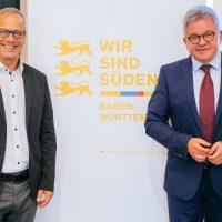 Andreas Braun und Minister Guido Wolf Bildnachweis: JuM_Niedermüller