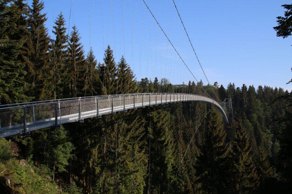 Hängebrücke in Bad Wildbad; Bildnachweis: Nördlicher Schwarzwald
