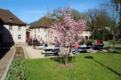 Kloster Lichtental Innenhof