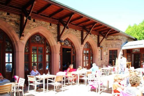 Innenhof Restaurant Fidelitas