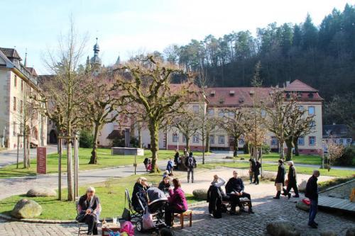 Kloster Lichtenthal Innenhof